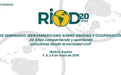 XX Seminario sobre  Drogas y Cooperación de la RIOD