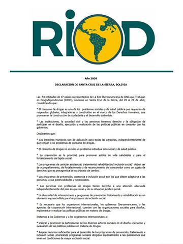 Declaración-Bolivia-RIOD-2009