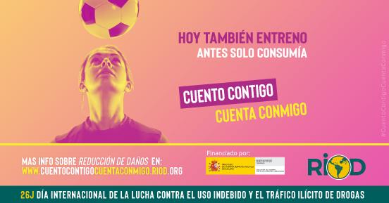 RIOD lanza la Campaña de Reducción de Daños #CuentoContigoCuentaConmigo