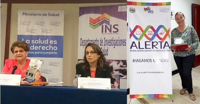 Presentación en El Salvador de la Revista Digital Alerta
